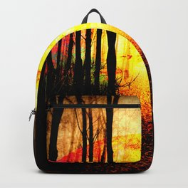 Path To Imagination Golden Backpack