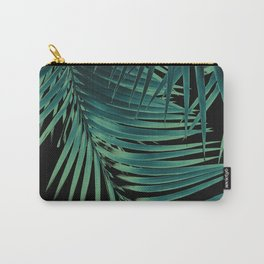 Palm Leaves Green Vibes #5 #tropical #decor #art #society6 Carry-All Pouch