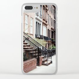 Upper East Side Clear iPhone Case