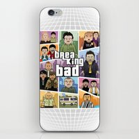 gta iPhone & iPod Skins featuring Lego Gta Mashup Breaking Bad by Akyanyme