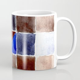 Color Chart - Burnt Sienna (DS) and French Ultramarine (DS) Coffee Mug