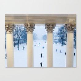 Corinthian Columns Canvas Print