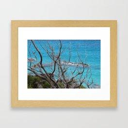Bermuda Blue Framed Art Print