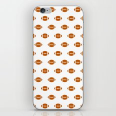 Texas longhorns orange and white university college texan football pattern iPhone & iPod Skin