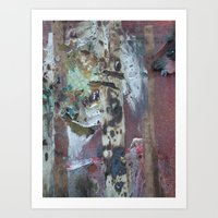 A found beauty in the mist of decay Art Print