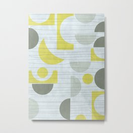 Retro Pattern II  #society6 #buyart #decor Metal Print