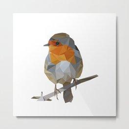 Robin Metal Print
