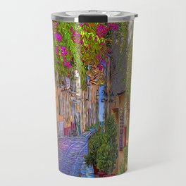 A Quiet Walk Travel Mug