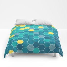 Bee Beach Comforters
