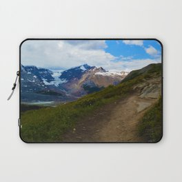 Athabasca & Snowdome Glaciers in Jasper National Park, Canada Laptop Sleeve