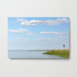 Rural and Wild Delaware. Metal Print