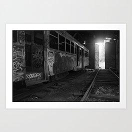 Trams #1 Art Print