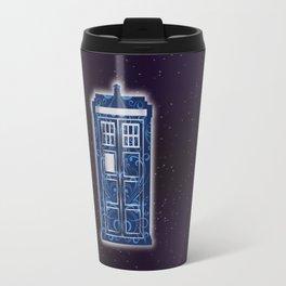 Filigree TARDIS Travel Mug