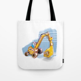 giant hand Tote Bag