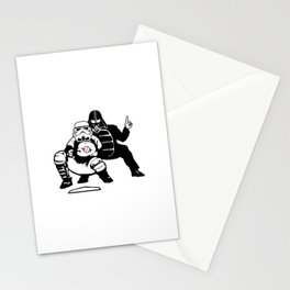 The Umpire Strikes Back Stationery Cards