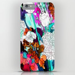 forest flowers 3 iPhone Case