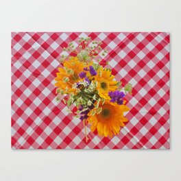 Centerpiece from Above Canvas Print