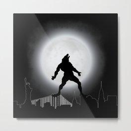 The Wolfman NYC Metal Print