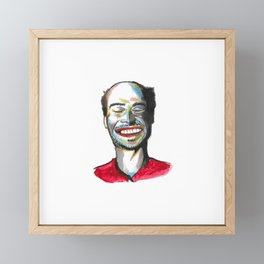 Sonrisa Framed Mini Art Print