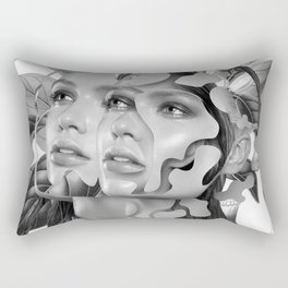 Immovable Longing Rectangular Pillow