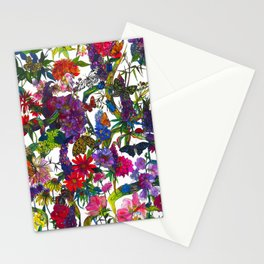 Botanical Butterflies Stationery Cards