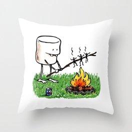 Roasted Throw Pillow