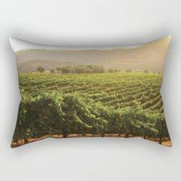 Wine Country Morning Rectangular Pillow