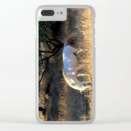 The White Clear iPhone Case