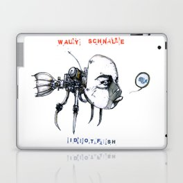 idiotfish (wally schnalle edition) Laptop & iPad Skin