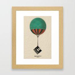 Gymnopedie No.1 - Erik Satie Framed Art Print