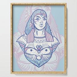 Ancient Goddess Serving Tray