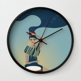 Djembe Bae Wall Clock