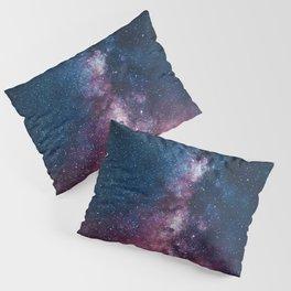 Radiating Milky Way Pillow Sham