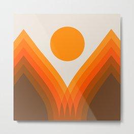 Golden Valley Metal Print