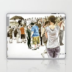 After it rained at McCarren Pool, we stopped and stared. I wish the moment lasted forever. Laptop & iPad Skin