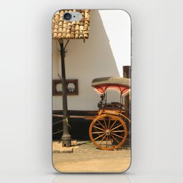 Sri Lanka, Galle - Old Rickshaw iPhone Skin