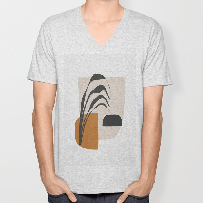 Abstract Shapes 3 Unisex V-Neck