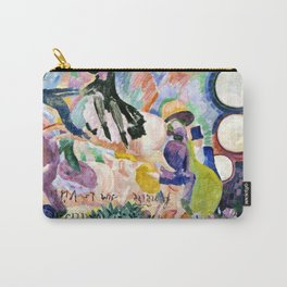 """Robert Delaunay """"Carousel of Pigs (Fr: Manege de cochons)"""" Carry-All Pouch"""