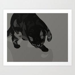 Sneak Art Print