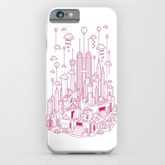Kuala Lumpur (Red ver.) iPhone & iPod Case