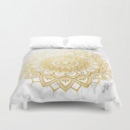 Pleasure Gold Duvet Cover