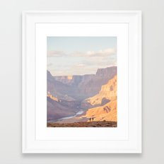 Hikers Framed Art Print
