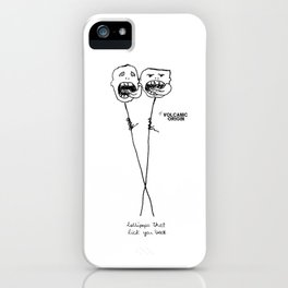 lollipops that lick you back iPhone Case