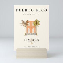 Puerto Rico Exhibition Mini Art Print