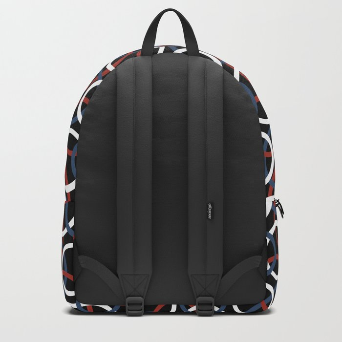 Olympica Black Backpack