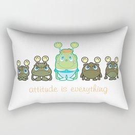 Attitude Is Everything Rectangular Pillow