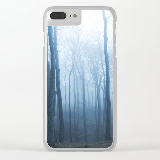 Foggy Woods #society6 #buyart Clear iPhone Case