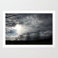 wandering sky Art Print