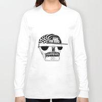 italian Long Sleeve T-shirts featuring Italian Skull  by Mr. JJ