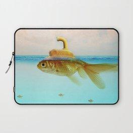 Submarine Goldfish Laptop Sleeve